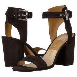 Dolce Vita Calan Blush Suede Shoes Size: 8 NIB